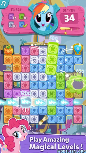 My Little Pony: Puzzle Party v1.4.43 (Coins/Lives) Apk
