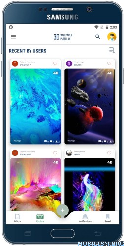 3D Wallpaper Parallax - 4D Backgrounds Mod Apk v7.0.351 ...
