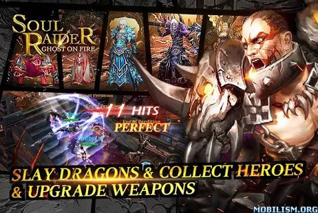 Soul Raider - Ghost On Fire v1.2.9 [Mod] Apk