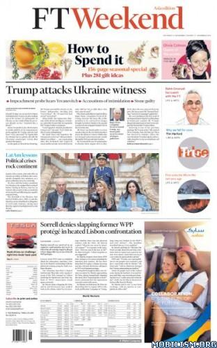 Financial Times Weekend Asia – November 16/17, 2019