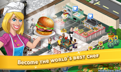 Chef Town: Cooking Simulation v5.1 [Mod] Apk