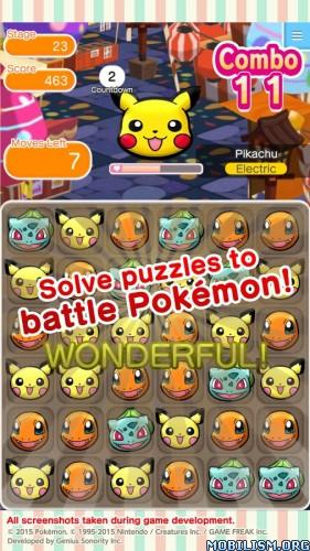 Pokémon Shuffle Mobile v1.3.0 [Mods] Apk