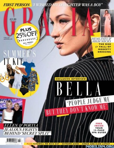 Download Grazia UK - 8 May 2017 (.PDF)